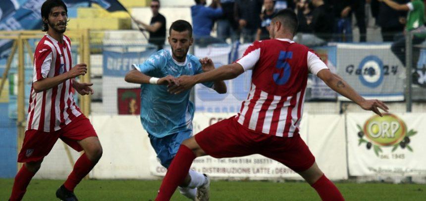 """Filippo Scalzi è il Man of the Match di Sanremese-Ghivizzano 1-1:""""Dobbiamo migliorare in fase realizzativa"""""""