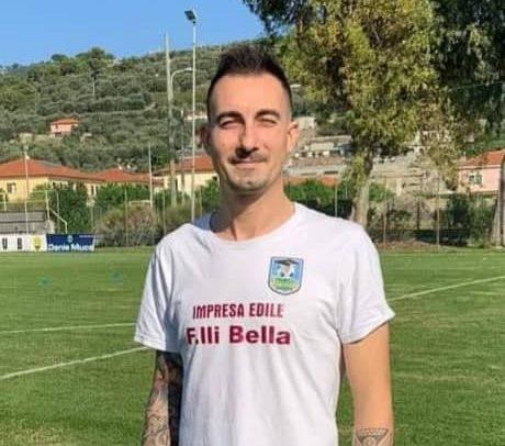 """Oneglia Calcio, per Davide Almonti eurogol e prestazione super contro la Carlin's Boys B:""""Cerco di ripagare la fiducia che mi dà il mister"""""""