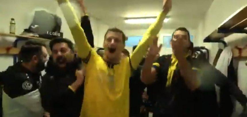 [Video] Il Cervo FC batte l'FCD Santo Stefano e negli spogliatoi esplode la festa