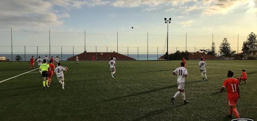 L'Ospedaletti cede di misura contro l'Albenga, orange beffati dal gran gol di Costantini