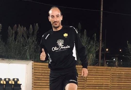 """Cervo FC, c'è la firma di Fabio Labricciosa nella vittoria con l'Atletico Argentina:""""Dedico il gol al presidente Muca e alla squadra"""""""
