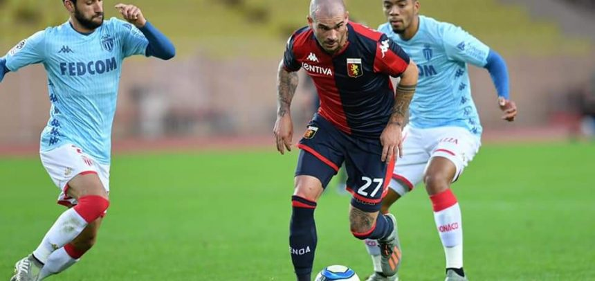 """Spal-Genoa 1-1, Stefano Sturaro:""""Contento per il gol e per come ha risposto il mio ginocchio"""""""