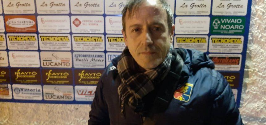 """Dianese&Golfo, mister Colavito commenta la vittoria con il Camporosso:""""I ragazzi mi sorprendono di partita in partita"""""""