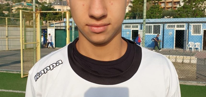 Allievi Regionali Fascia B, Francesco Demme è il Man of the Match di Sanremese-Legino 3-0
