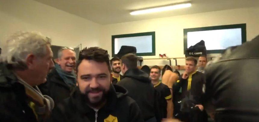[Video] Il Cervo FC vince 3-1 il derby con il San Bartolomeo Calcio ed esplode la festa negli spogliatoi