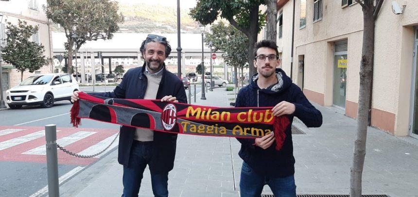 """Milan Club Taggia Arma, il presidente Ivan Di Giorno:""""Auguri a tutti i rossoneri e sempre forza Milan"""""""