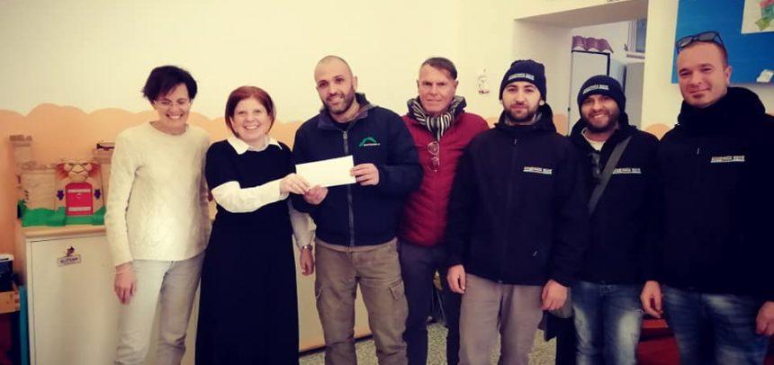 La Gradinata Nord Sanremo consegna 1000 euro al Centro di Aiuto alla Vita