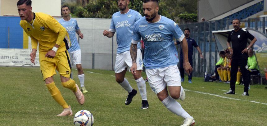 Marco Spinosa è il Man of the Match di Savona-Sanremese 1-2
