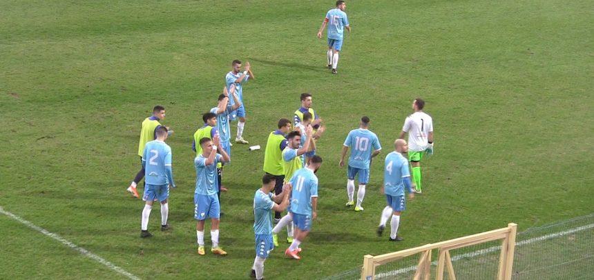 [Video] La Gradinata Nord Sanremo applaude la squadra dopo il pareggio con il Fossano