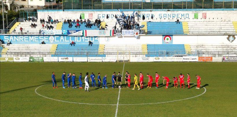 Sanremese-Folgore Caratese 1-0: decide la magia di super Pippo Scalzi