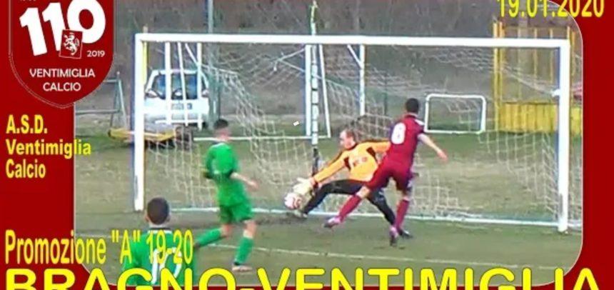 Gli Highlights di Bragno-Ventimiglia 1-1