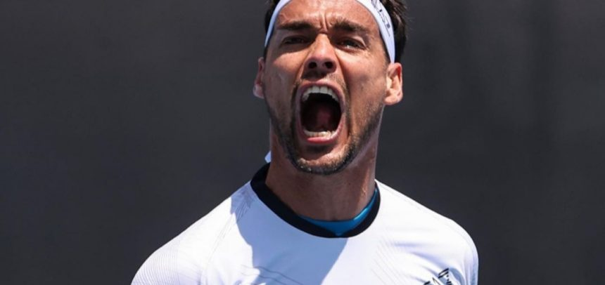 Fabio Fognini al terzo turno degli Australian Open, battuto Thompson in 5 set