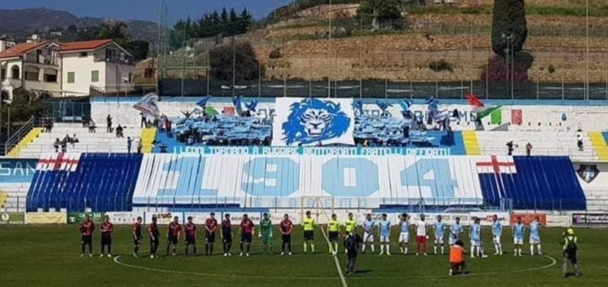 """Gradinata Nord Sanremo:""""Domenica tutti allo stadio, pronta una splendida coreografia"""""""