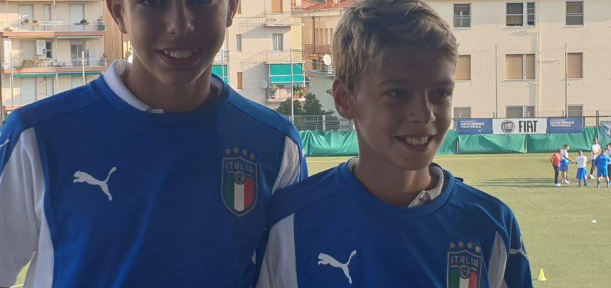 Sanremese, gli Esordienti Falcone e Fidanza in prova alla Sampdoria