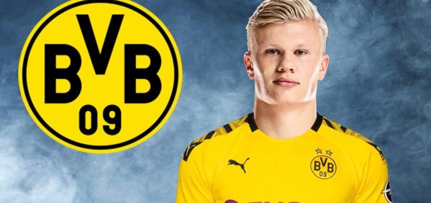 [Video] La tripletta di Haaland al debutto col Borussia Dortmund: tre gol in 23′