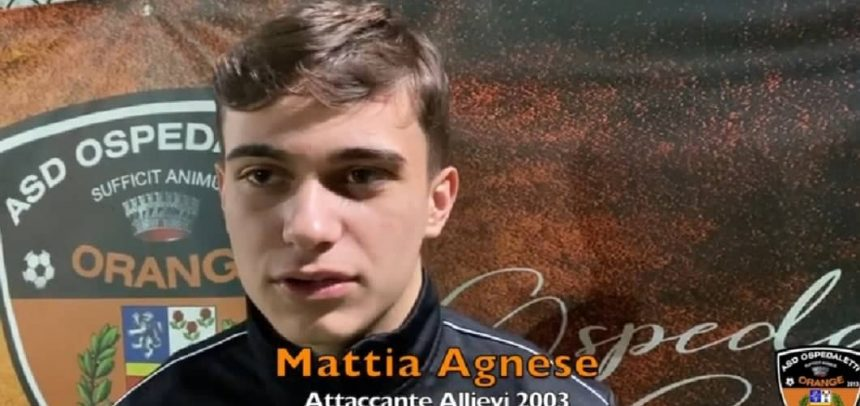 """Ospedaletti, intervista a Mattia Agnese:""""Il premio Davide Astori? Non ho ancora metabolizzato"""""""