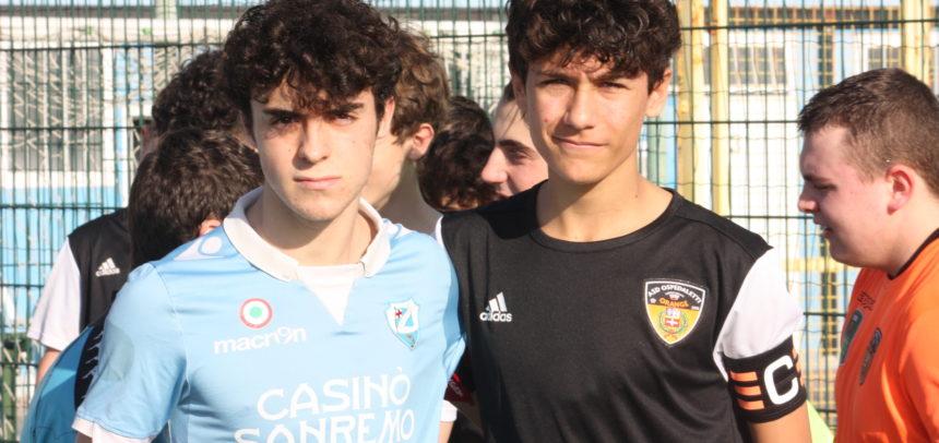 Allievi Regionali Fascia B, la Sanremese vince 3-1 il derby con l'Ospedaletti: doppietta di Lodovici e gol di Bastita