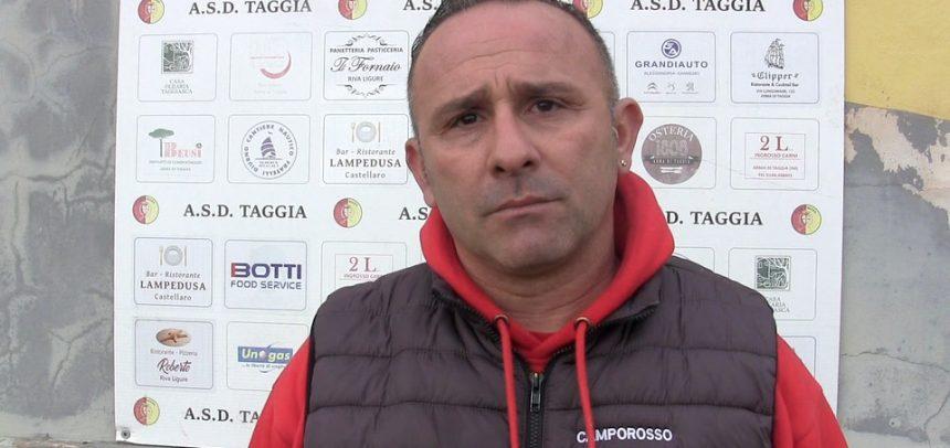 """Taggia-Camporosso 1-1, mister Luci:""""Complimenti ai ragazzi, ora testa alla partita con la Veloce"""""""