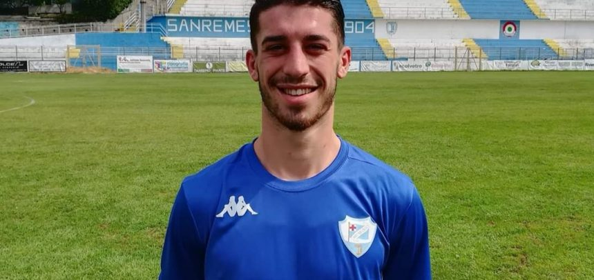 Sanremese, confermato il centrocampista Giovanni Fenati