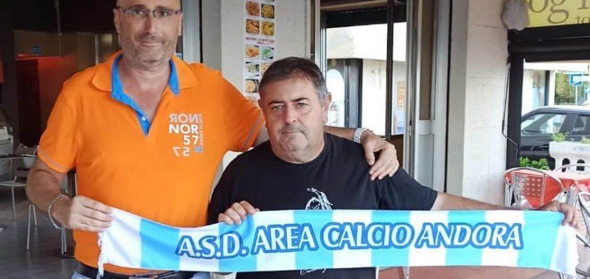 Area Calcio Andora, Davide Torregrossa è l'allenatore della Juniores