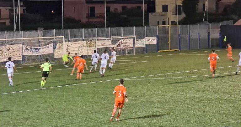 Coppa Italia di Eccellenza, gli Highlights di Albenga-Ospedaletti 2-0