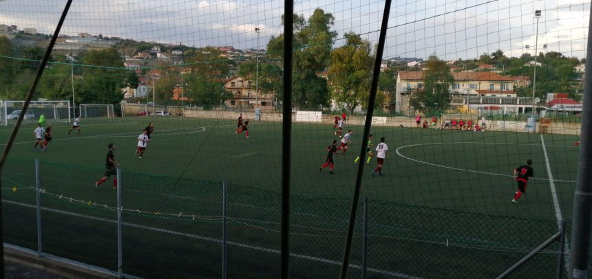 Oneglia Calcio-Atletico Argentina 0-3 dopo i primi 45′
