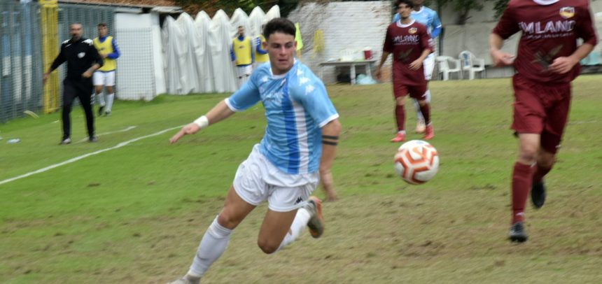 Sanremese, primo gol in Serie D per Francesco Pellicanò