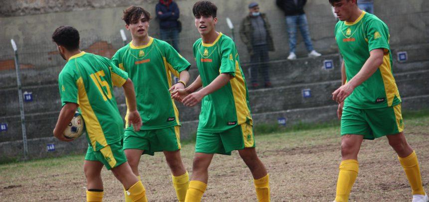 Juniores Regionali 2° Livello, goleada del Taggia: 6-1 nel derby con l'Atletico Argentina