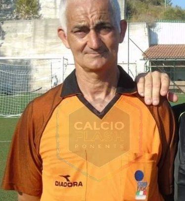 Lutto nel calcio ponentino: è mancato l'arbitro Paolo Iannì