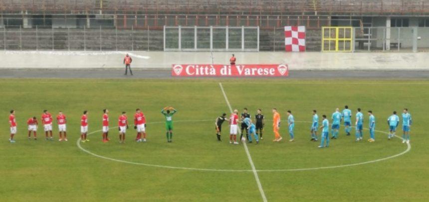 Città di Varese-Sanremese 0-3: la cronaca del match