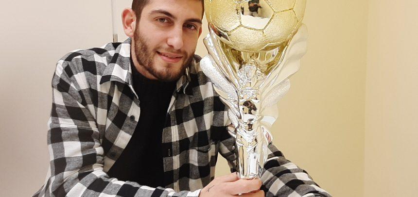 """Intervista al 5° Pallone d'oro del Ponente Michael Ventre:""""A Ventimiglia mi trovo benissimo. Sanremese? Mi piacerebbe"""