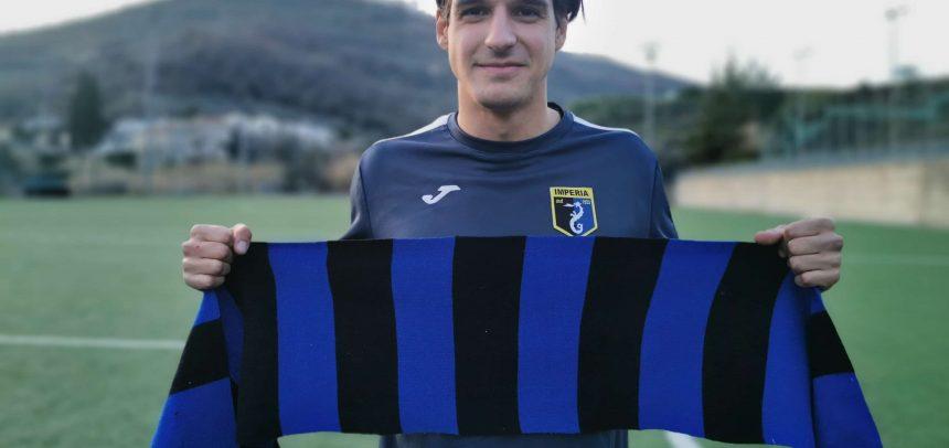 """Calciomercato, l'attaccante classe '99 Leonardo Di Salvatore è dell'Imperia:""""Contento di essere arrivato in una grande piazza"""""""