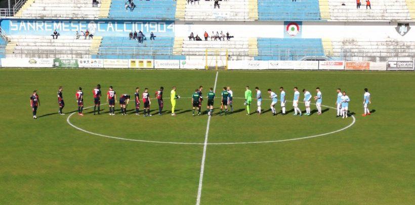 Sanremese-Gozzano 2-2: il racconto del match