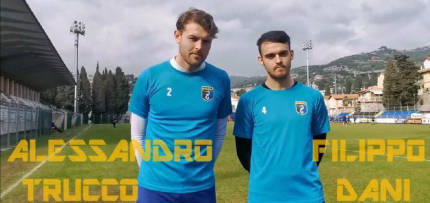 """Imperia attesa dalla trasferta di Sestri Levante, parola ai portieri Trucco e Dani: per loro 10 """"clean sheet"""" in stagione"""
