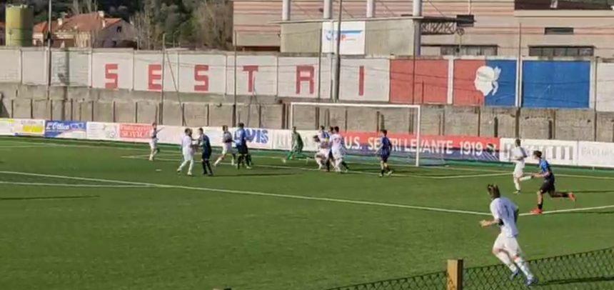 Debacle Imperia, il Sestri Levante vince 6-0