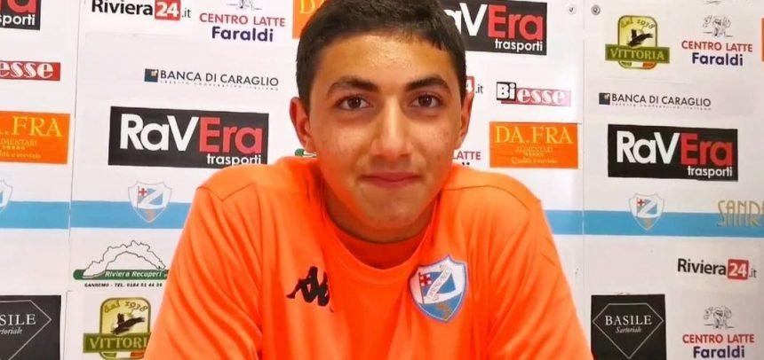Sanremese, esordio in Serie D a 15 anni per Omar Bohli