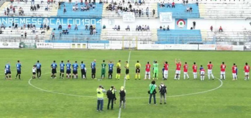 Sanremese–Imperia 2-1: decisivi i gol nel primo tempo di Convitto e Mikhaylovskiy