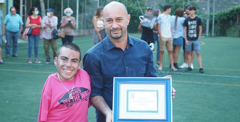 Ospedaletti, Vincenzo Stragapede dice addio agli orange