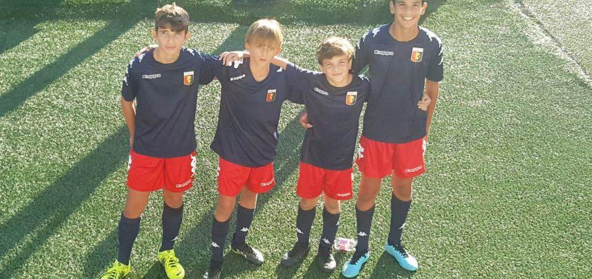 Quattro giovani della Sanremese in prova al Genoa